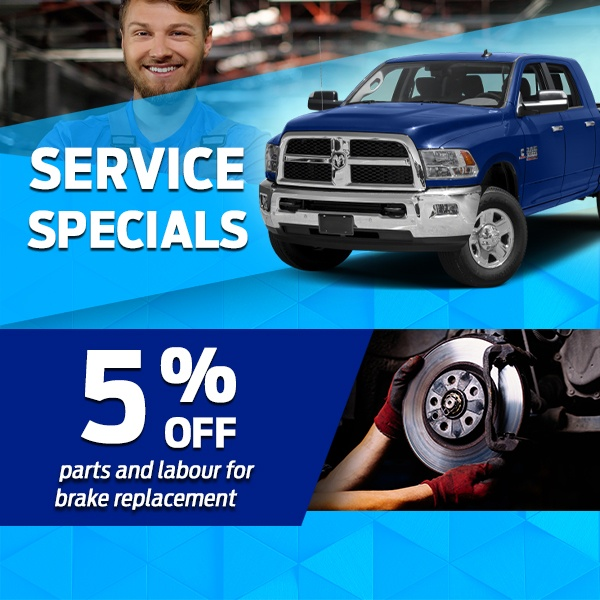 5% off Parts and Labour